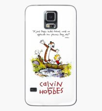Calvin and Hobbes Over the Water Case/Skin for Samsung Galaxy