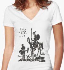 Camiseta entallada de cuello en V Pablo Picasso