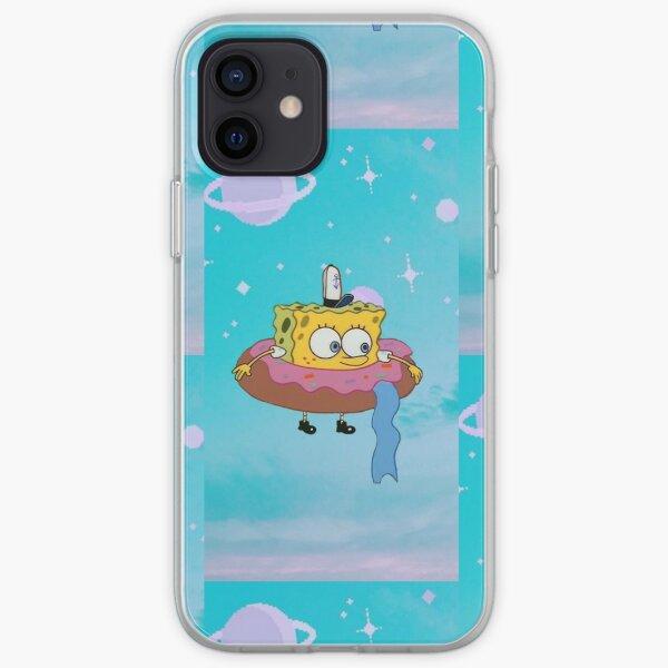 Lifted Spongebob iPhone Soft Case