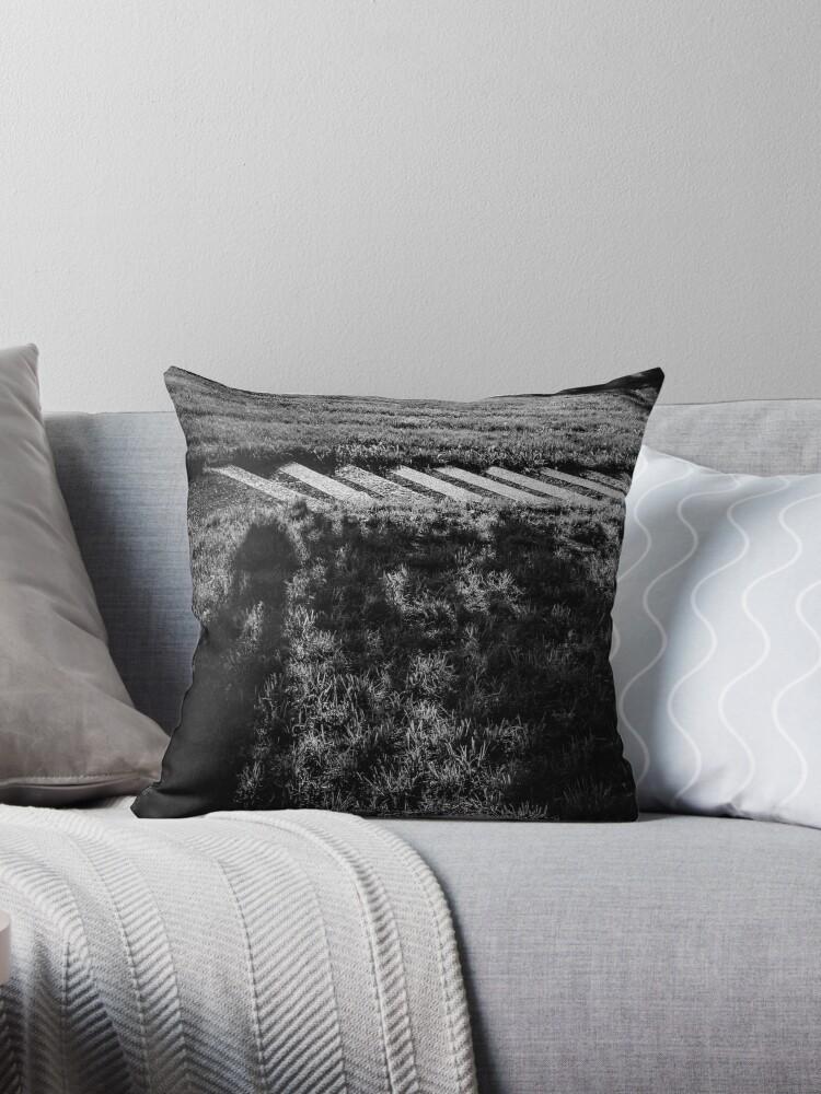 SLENDERMAN [Throw pillows] by Matti Ollikainen