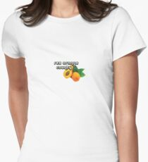 rex orange county apricot  Women's Fitted T-Shirt
