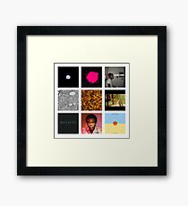 Childish Gambino Discography Framed Print
