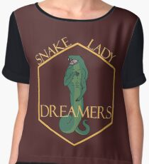 Snake Lady Dreamers Chiffon Top