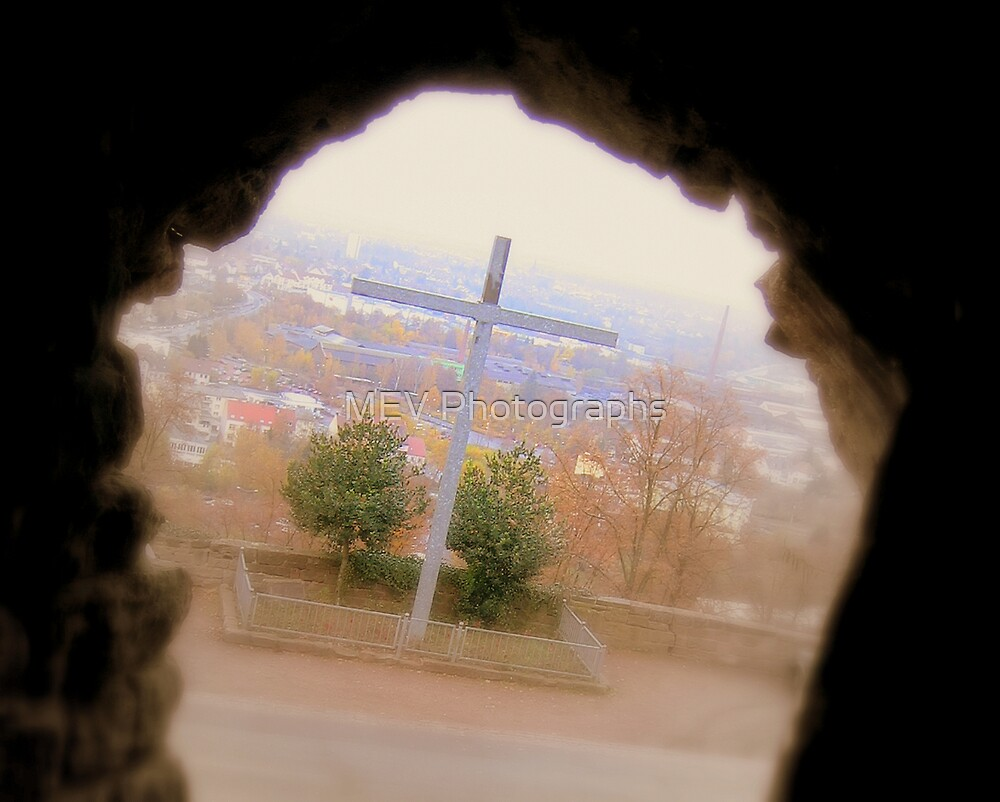 Through the cross by MEV Photographs