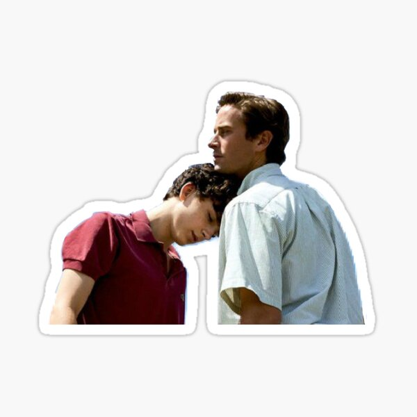 Call Me By Your Name - Oliver and Elio Sticker