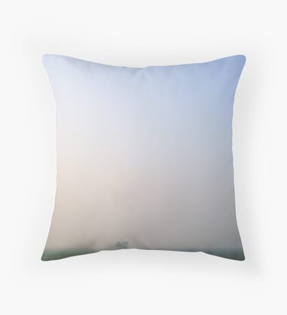 Lost in void Throw Pillow