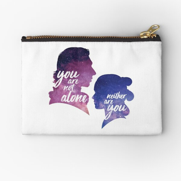 Reylo - You are not alone | Neither are you Zipper Pouch