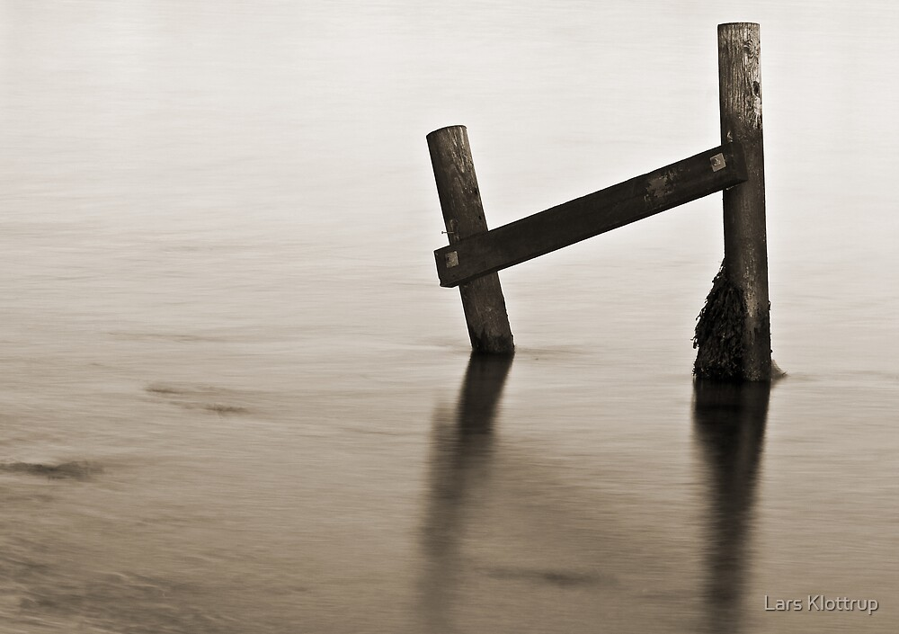 The End of the Bathing Jetty by Lars Klottrup