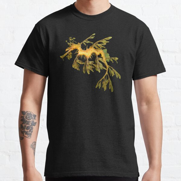 Leafy Seadragon Ocean Sea Dragon Seahorse beautiful sea creature Classic T-Shirt