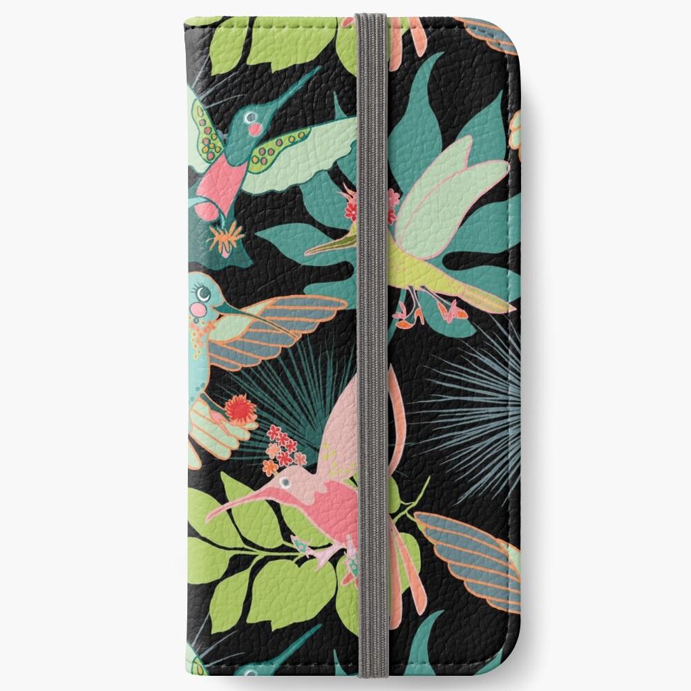 Hummingbird Paradise iPhone Wallet