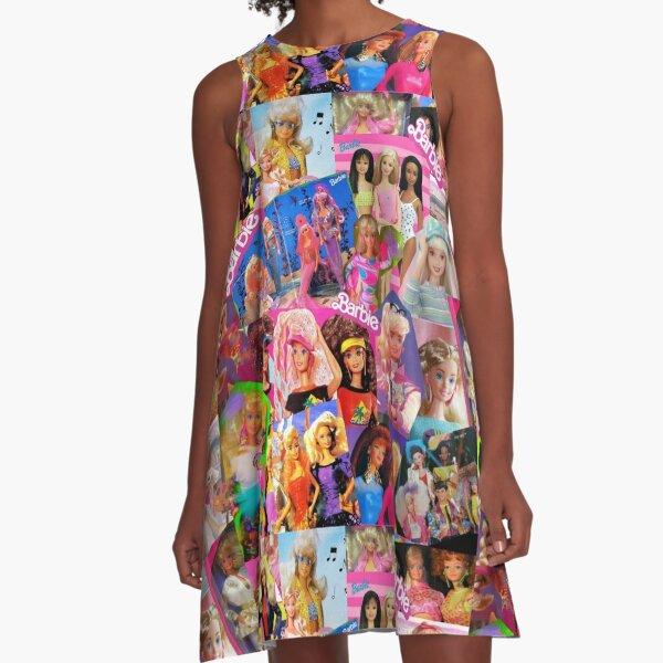 80's barbie A-Line Dress