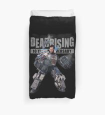 dead rising - to see what's happening on street Duvet Cover