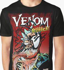 Venom Rick Graphic T-Shirt