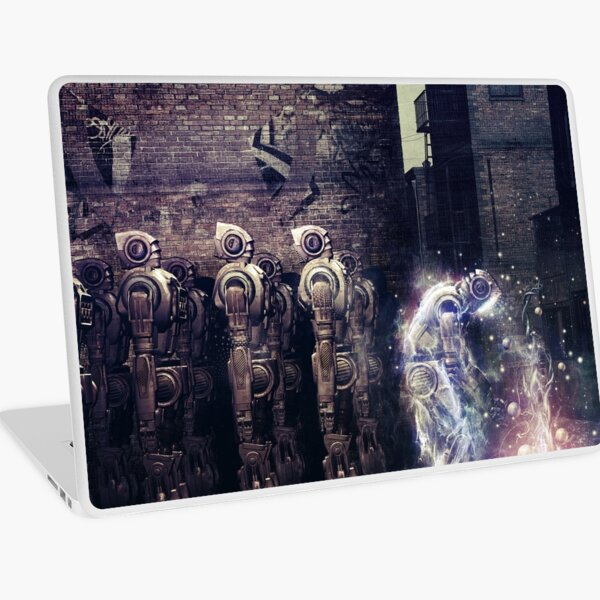 Wake Up  Laptop Skin