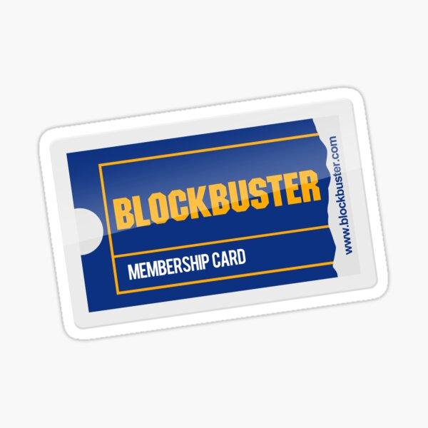 Membership Card Sticker