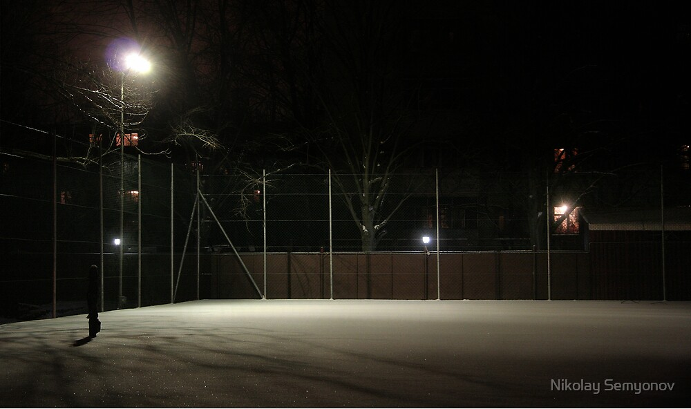 Court. Hybernation by Nikolay Semyonov