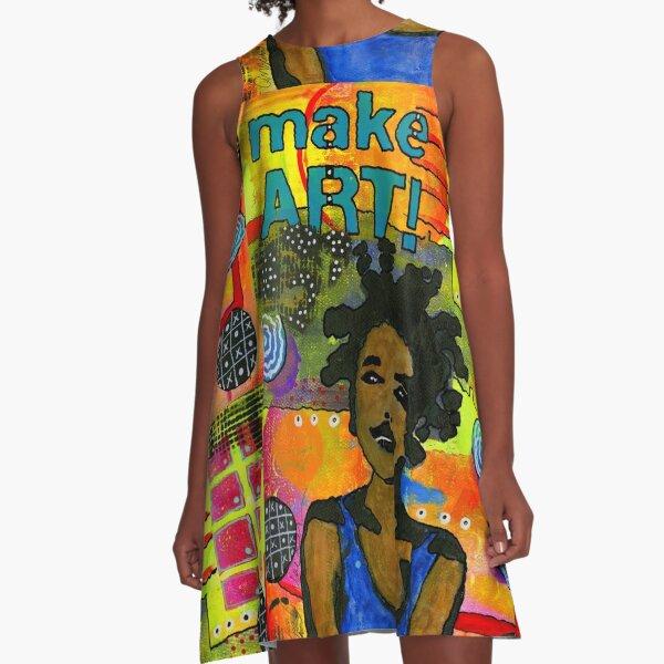 Make ART A-Line Dress