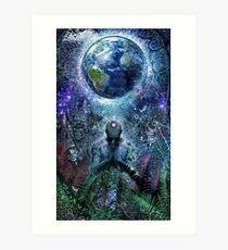 Gratitude For The Earth And Sky Art Print