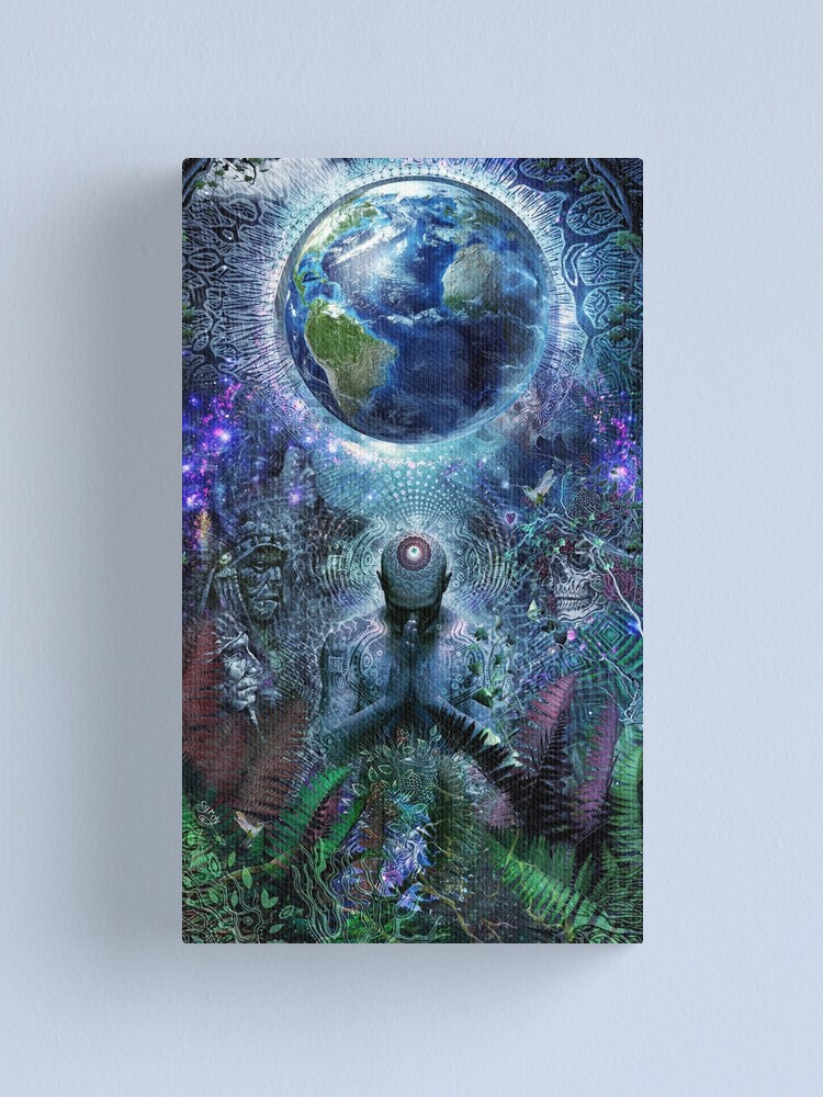 Alternate view of Gratitude For The Earth And Sky Canvas Print