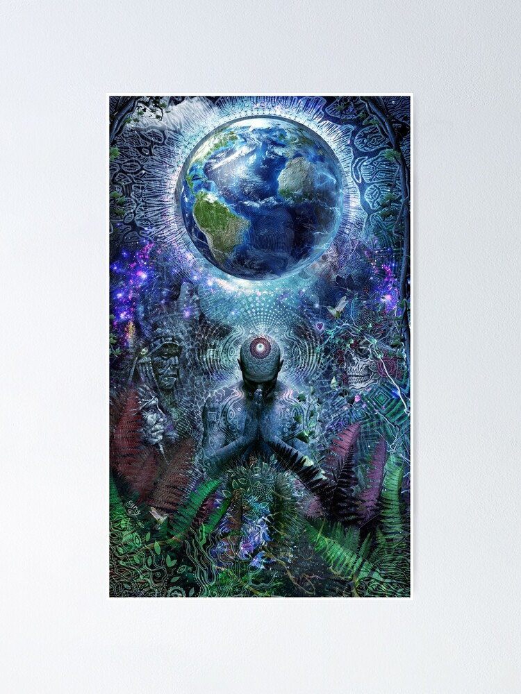 Alternate view of Gratitude For The Earth And Sky Poster
