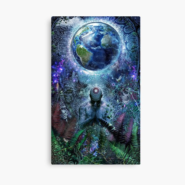 Gratitude For The Earth And Sky Canvas Print