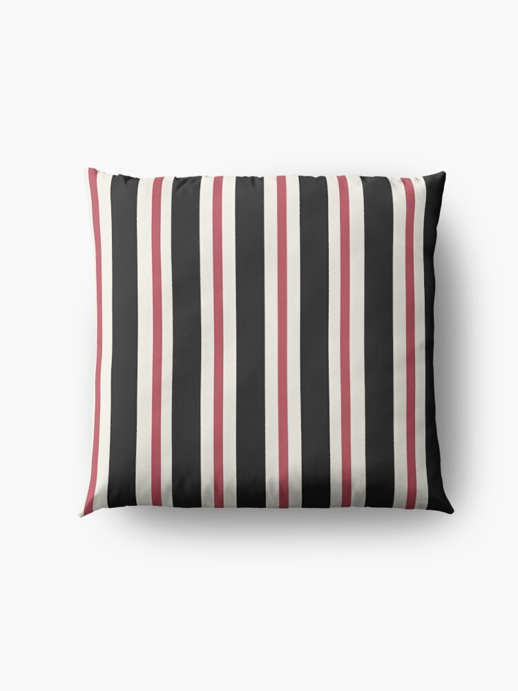 Alternate view of Burlesque Stripe Floor Pillow