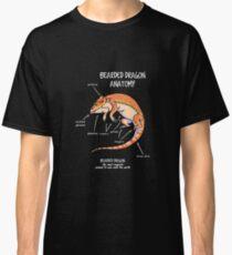 bearded dragon anatomy Classic T-Shirt