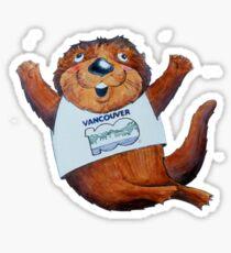 Tillicum the otter Sticker