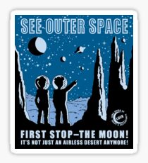 See Outer Space  Sticker