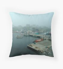 No Fishing Today Throw Pillow