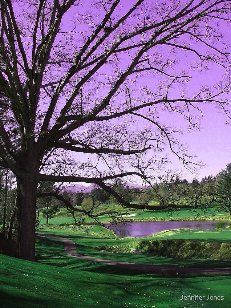 Asheville Tree by Jennifer Jones