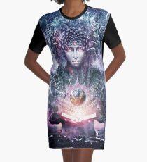 Ocean Atlas Graphic T-Shirt Dress