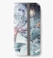 Der unendliche Träumer iPhone Flip-Case/Hülle/Klebefolie