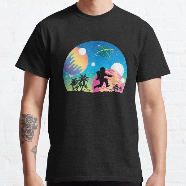 Skipping Astronaut  Classic T-Shirt