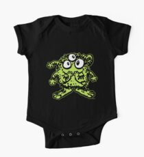 Cute Cartoon Green Monster by Cheerful Madness!! Kids Clothes