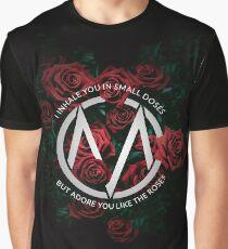 Camiseta gráfica Adorarte como las rosas