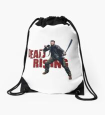 Dead Rising zombie survival Drawstring Bag