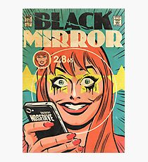 Black Mirror  Photographic Print