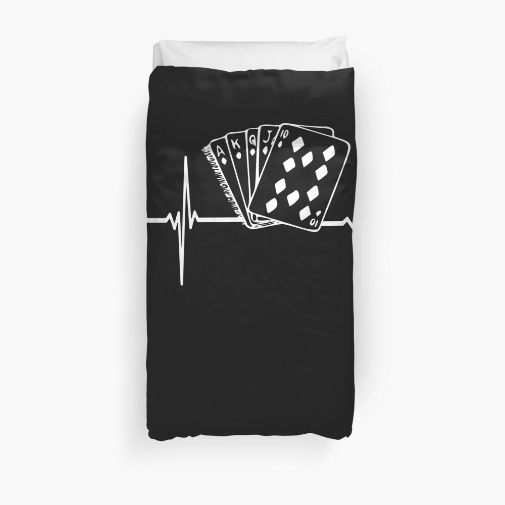 Poker Herzschlag Bettbezug