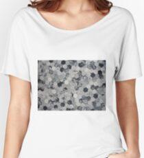 Grey Hexagon Women's Relaxed Fit T-Shirt