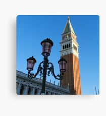 The Campanile of St. Mark Canvas Print