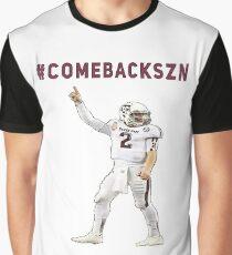 #comebackszn - Johnny Manziel Graphic T-Shirt