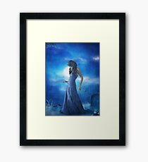 The Darkest Blue,The Lighest Blue... Framed Print