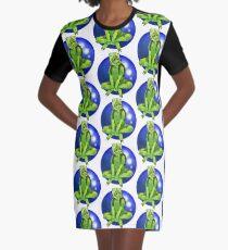 Fern Graphic T-Shirt Dress