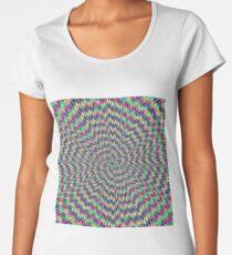 Awesome optical illusions. Optical illusion art Women's Premium T-Shirt