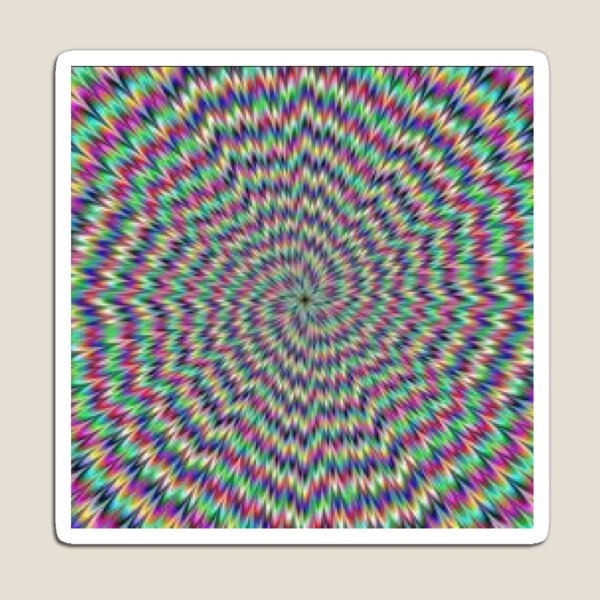 Awesome optical illusions. Optical illusion art #Opticalillusion #Visualillusion #OpticalArt #VisualArt Magnet