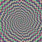 Awesome optical illusions. Optical illusion art by znamenski