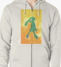 Old Bold and Brash Zipped Hoodie