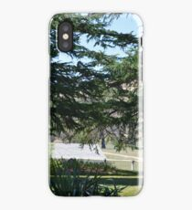 Seat in the shade iPhone Case