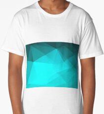 Mosaic triangle bright trendy pattern Long T-Shirt